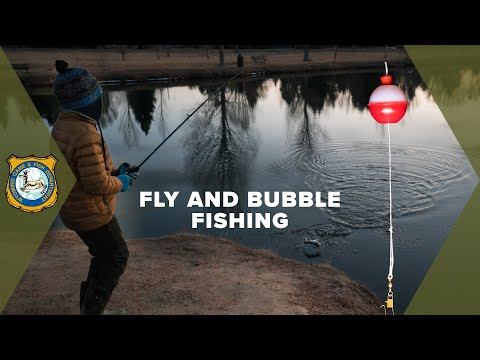 Fly Fishing With Spinning Gear - Fly And Bubble Fishing