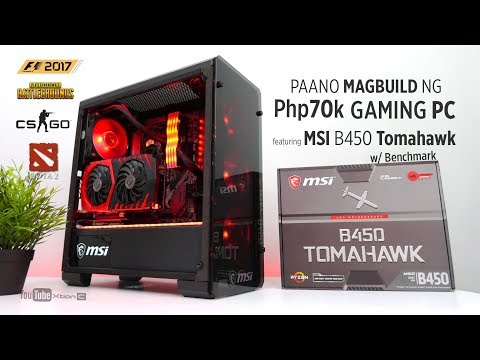 VLOG: Paano magbuild ng Php70k Gaming PC feat  MSI B450 Tomahawk w