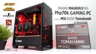 VLOG: Paano magbuild ng Php70k Gaming PC feat. MSI B450 Tomahawk w/ Benchmark [Step by Step]