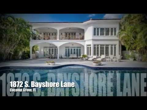 Luxury Home 1872 S Bayshore Lane Coconut Grove