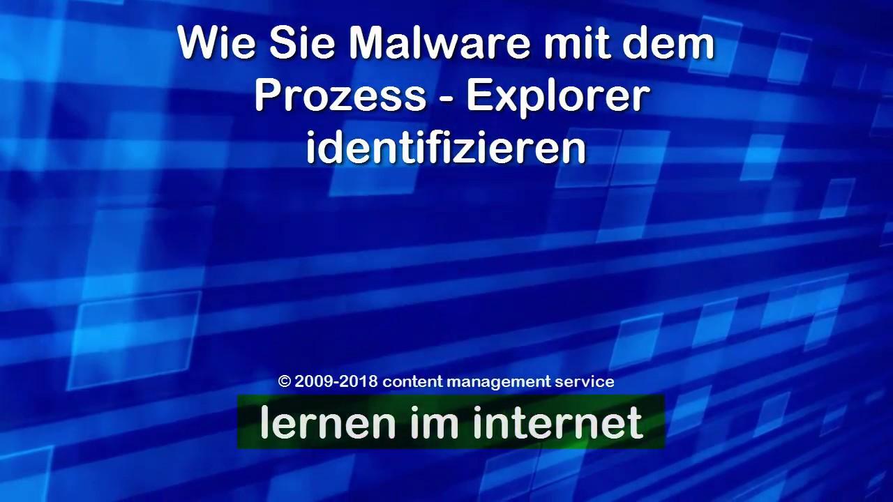 Malware Finden