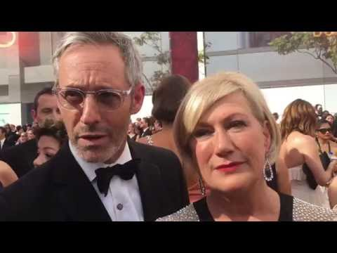 Michel Gill and Jayne Atkinson 'House of Cards' on 2016 Emmys red carpet