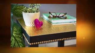 Как красиво обновить журнальный столик