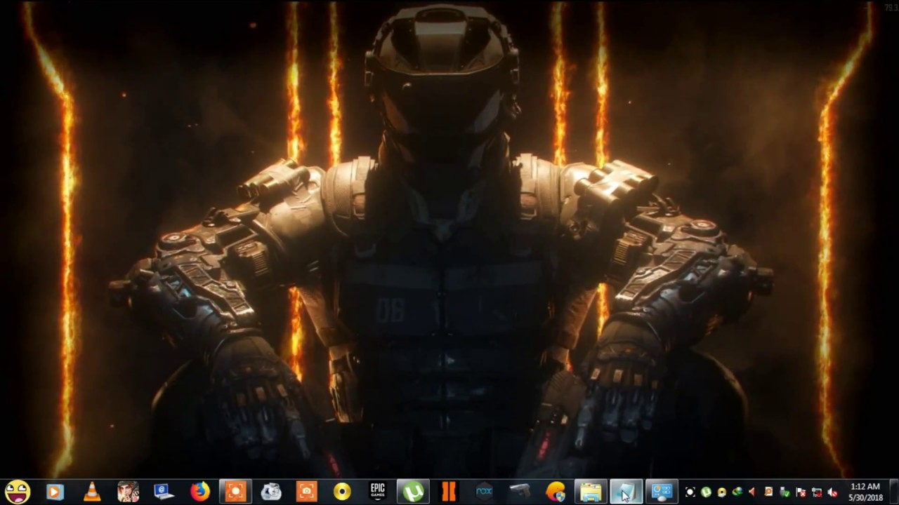 Call Of Duty Black Ops 3 How To Set Live Wallpaper In Pc Youtube