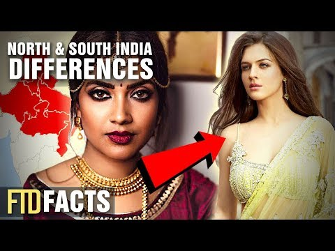 The Difference Between North Indians and South Indians