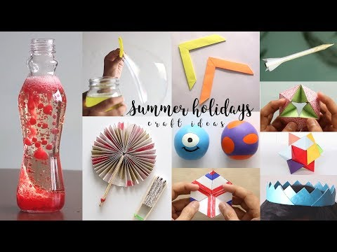 DIY Ideas You Should Definitely Do In Summer Holidays | Useful Things
