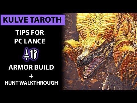 Kulve Taroth Tips for PC Lance (full commentary) Monster Hunter: World PC thumbnail