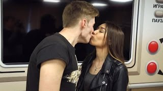 поцелуй Золотая Рыбка Как правильно целоваться  Девушки Мотора