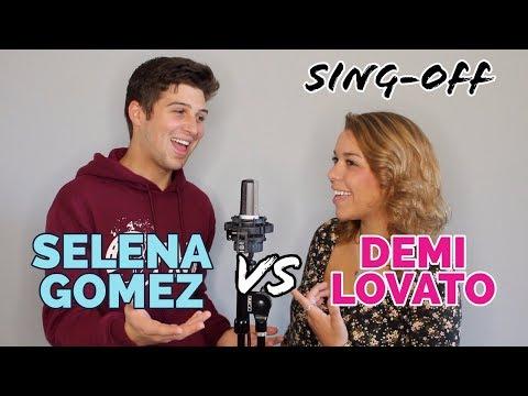 Selena Gomez vs Demi Lovato SINGOFF