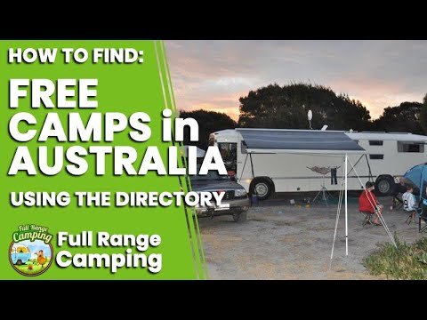 How To Find Free Camps In Australia Using Free Range Camping Online  Maps