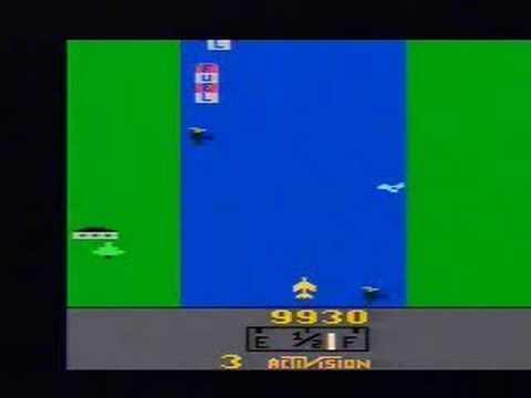 River Raid (Atari 2600) gameplay