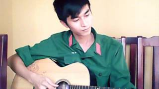 [Bolero] RỪNG LÁ THẤP - Guitar cover 😆