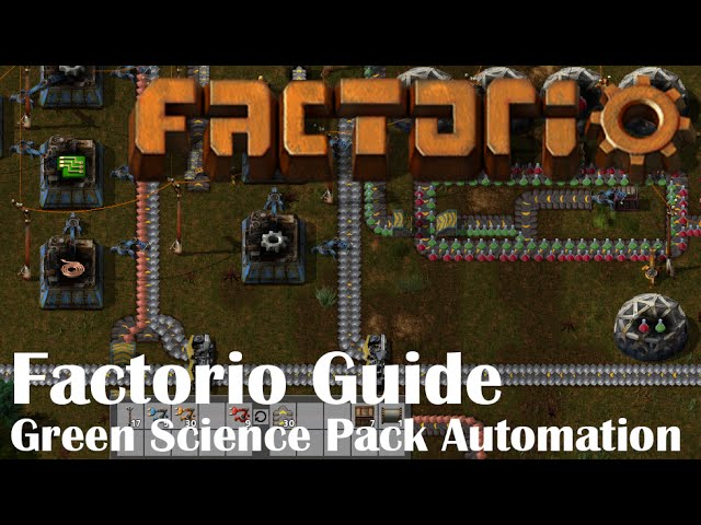 Factorio Guide U2013 Green Science Pack Automation In A Few Minutes   Clip.FAIL