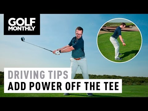 Driving Tips With Peter Finch – Add Power Off The Tee