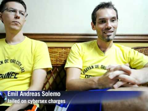 Jailed Swedes in Philippine cybersex 'nightmare'