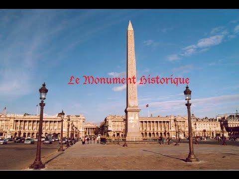 Le Monument Historique I L'obélisque de la Concorde