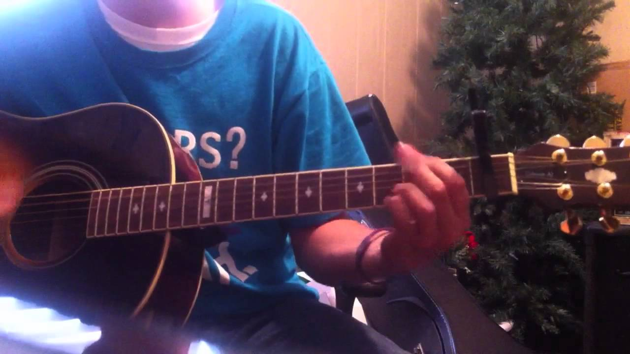 Mayday Parade Save Your Heart Guitar Cover With Power Chords And
