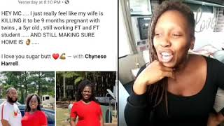 Pregnant Blk Mom Praised For Working Like a Mule bcz Husband ❤💪 | @TonyaTko Reacts
