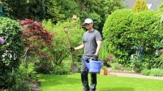 Rasenpflege nach großer Trockenheit - NewWonder555