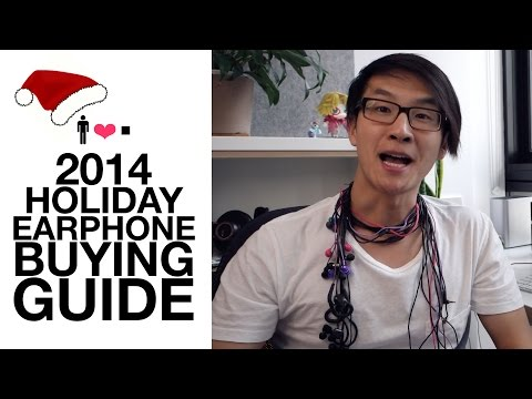 Holiday Earphone Buying Guide 2014!