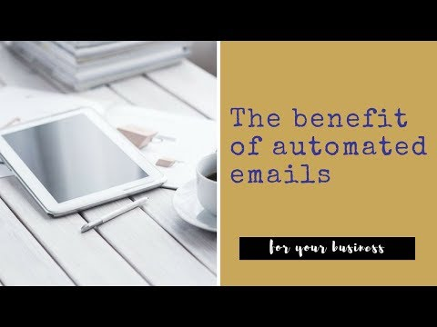 The benefit of automated emails | Meld Business Services | Virtual Assistant