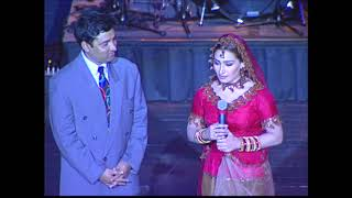 Hanif Raja with Filmstar Reema Khan   HD   Dhanak TV USA