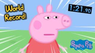 Peppa Pig Speedrun WORLD RECORD