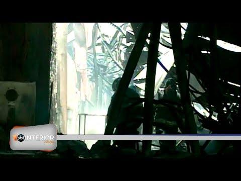 Fogo destrói depósito de loja de autopeças em Rio Preto