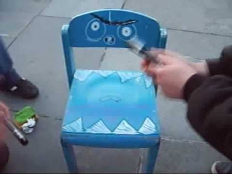 baby chair monster