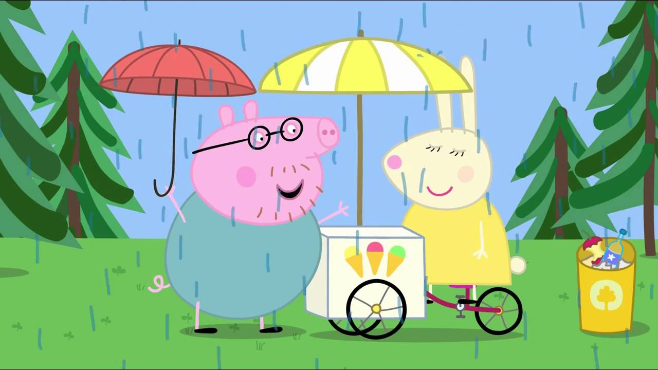 Peppa Pig - The Rainbow (2 episode / 3 season) [HD]