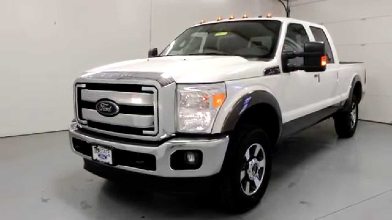 2016 ford f 250 lariat white