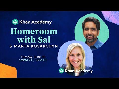 Homeroom with Sal & Marta Kosarchyn - Tuesday, June 30