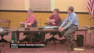 Kelley's Corner Steering Committee 5/15/18