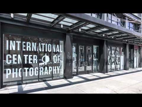 International Center of Photography, Bowery | Window Graphic Installation
