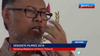 Bambang Widjojanto: Ini Pemilu Terburuk