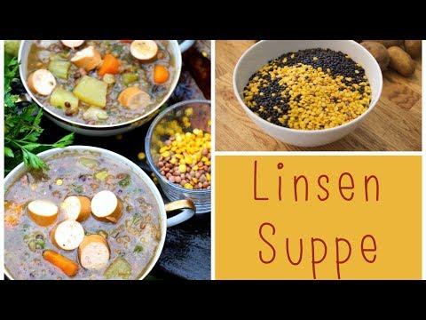 Klassische Linsensuppe  Homemade  LadyLandrand