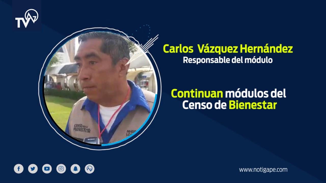 Notigape Continúan Módulos Del Censo De Bienestar