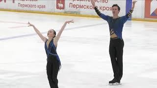Юлия Артемьева Михаил Назарычев ПП Соревнования на призы Тарасовой 2021