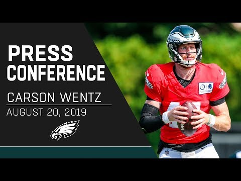 "Carson Wentz ""I Feel Good Where We're At"" 