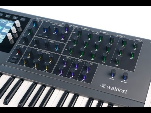 Waldorf Quantum Synth 2 0 Update Overview & Demo – Synthtopia
