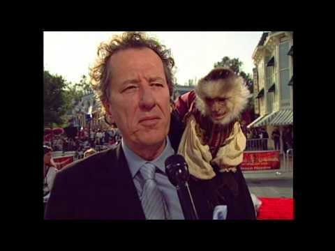 "Pirates of the Caribbean: At World's End: Premiere Geoffrey Rush ""Captain Hector Barbossa"" Interview"