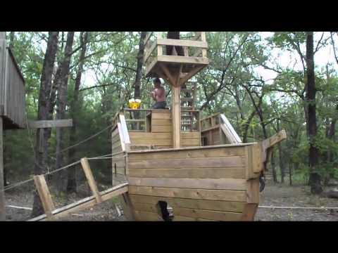 Kids Pirate Ship Playhouse  YouTube