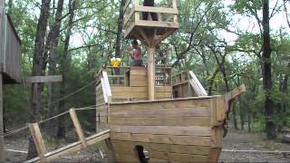 Kids Pirate Ship Playhouse