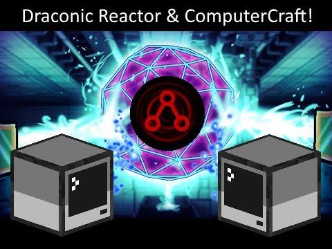 Draconic Evolution - Draconic Reactor ComputerCraft Setup and