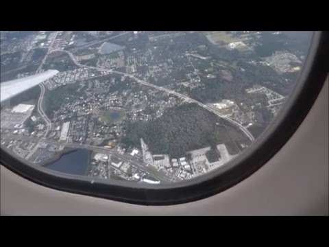 MD88, Delta, flight from New York to Florida
