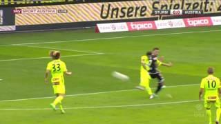 SK Puntigamer Sturm Graz  - FK Austria Wien 2:0 Deutsch