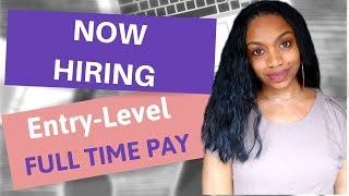 Brand NEW  Work From Home Jobs I Apply Soon!