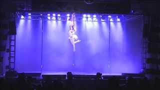 2nd Place Winner Miss Pole Dance America 2015 - Charlee Wagner