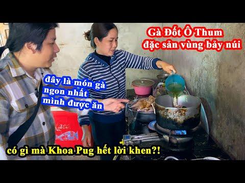 Quá Ngon Gà Đốt Ô Thum Kiểu Campuchia - Khoa Pug Há Hốc Mồm Với Rừng Tràm Trà Sư Vì Quá Đẹp!