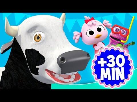 La Vaca Lola de La Granja y más videos infantiles   El Reino Infantil